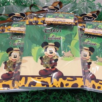Bloquinho Mickey Safari