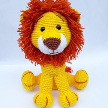 Amigurumi de crochê - Leão de croche