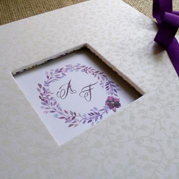 Livro de Assinaturas Para Casamento