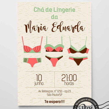 Chá de Lingerie - Digital