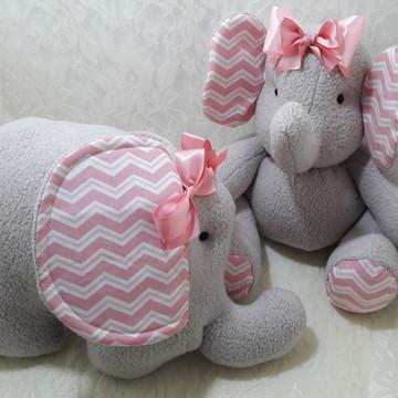 Elefantinha e almofada elefantinha
