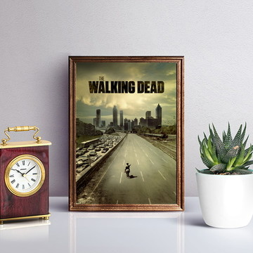 Poster: The Walking Dead (A4)