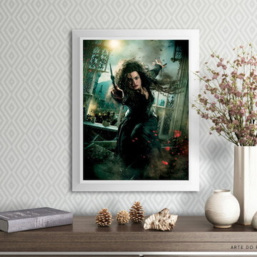 Poster: Bellatrix Lestrange | Harry Potter (A4)