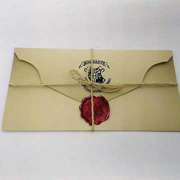 Convite Harry Potter - Carta de Hogwarts
