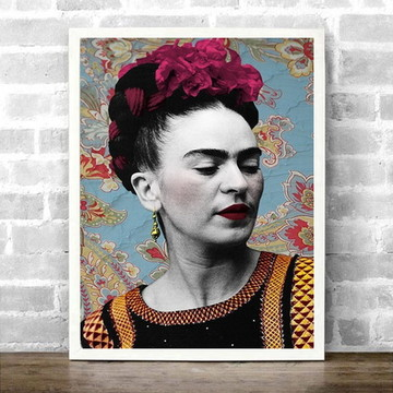Quadro Frida Kahlo pop art