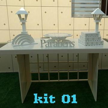 Locação de Kit Provençal COLMEIA CLEAN 01