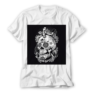 Camiseta Unissex Caveira