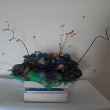 Arranjo ou vaso de Flores decorativos Delicado