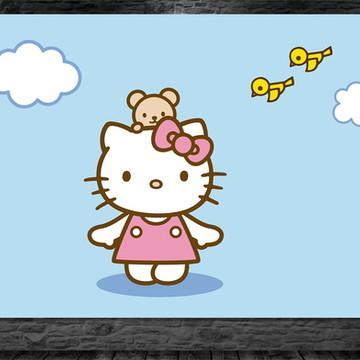Painel Hello Kitty - Frete Grátis