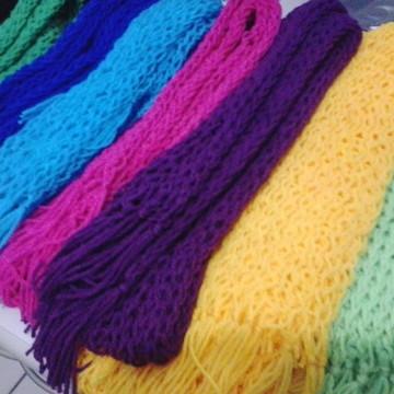 Cachecol Color Block