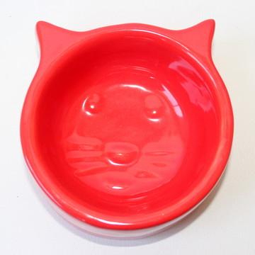 Comedouro de gato - Vermelho