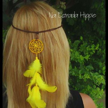 Headband Filtro dos Sonhos Amarelo
