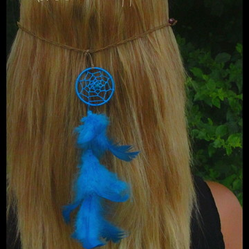 Headband Filtro dos Sonhos Azul