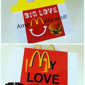 Caixa big Love namorados