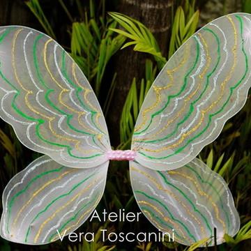 Asa de fada borboleta