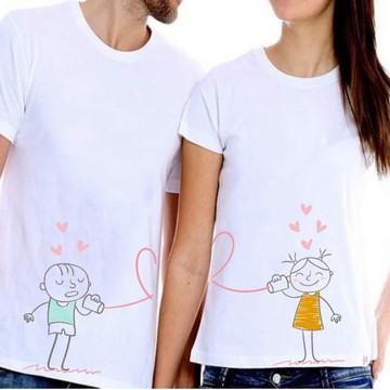 Kit - 2 Camisetas para Casais 02