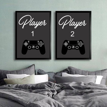 Posters Player 1 e Player 2