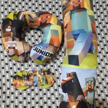 Almofada de cinto de segurança + pescoço