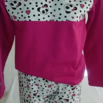 pijama adulto tamanho M