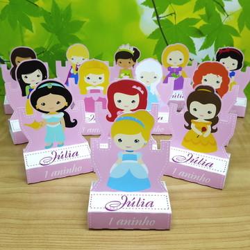 Porta Chocolate Princesas Disney Cute