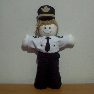 Boneco piloto