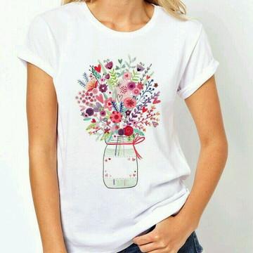 Camiseta feminina estilosa
