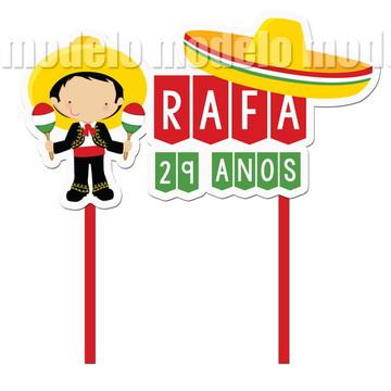 Topo bolo festa México
