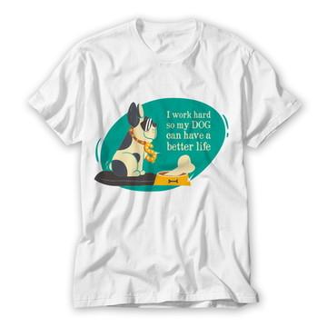 Camiseta Divertida Dog