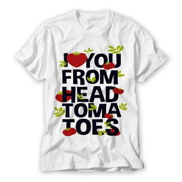 Camiseta Divertida Tomates