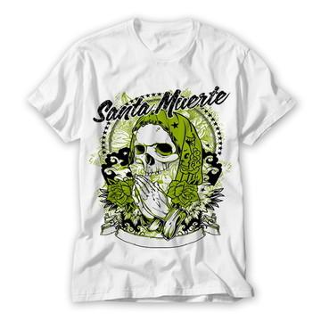 Camiseta Caveira Mexicana Santa Muerte