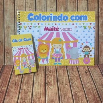 Kit Pintura - Circo Menina