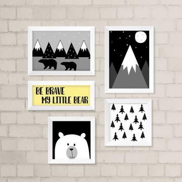 Kit de Quadros - Little Bear