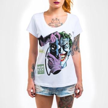 Camisa Feminina Piada Mortal