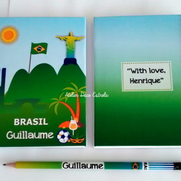 Mini Caderno do Brasil