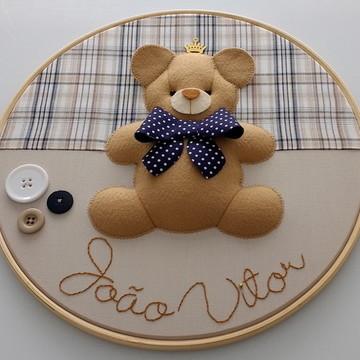 Quadro Urso - Porta de Maternidade