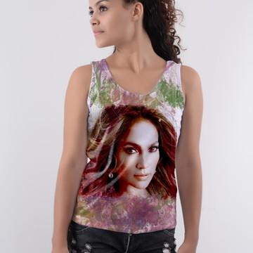 Camiseta Coleção Cantores Pop