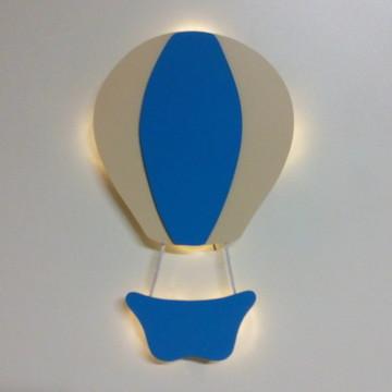 Luminária balão com luz de led enfeite quarto bebe