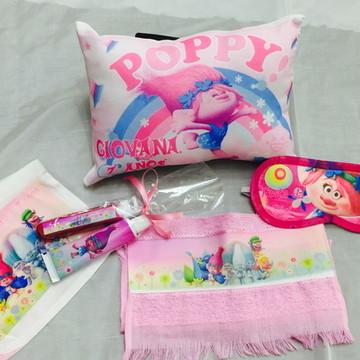 kit festa do pijama trolls