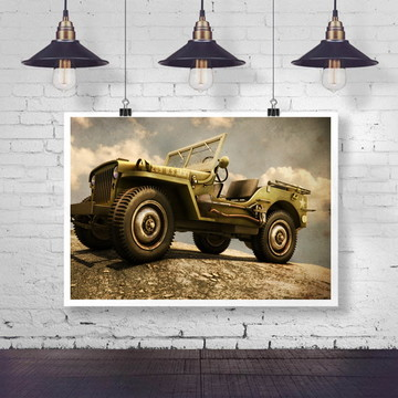 poster Jeep 02 30x40
