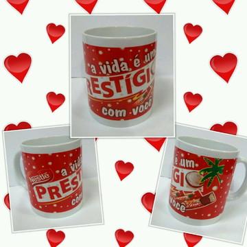 Caneca Prestigio chocolate
