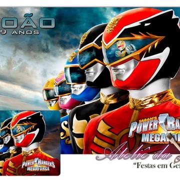 Jogo Americano - Power Rangers