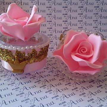 Lembrança Personalizada Luxo Rosa