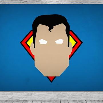 Painel Superman - Frete Grátis