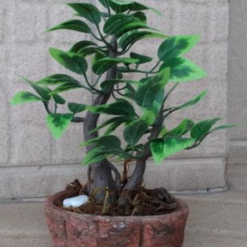Mini bonsai artificial