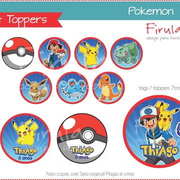 Kit Digital Toppers Pokemon