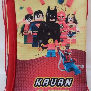 Linda mochilas Lego Batmam