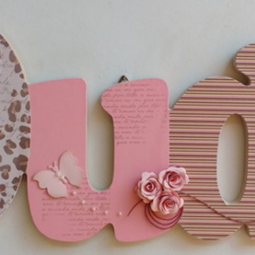 Porta maternidade Duda marrom e rosa