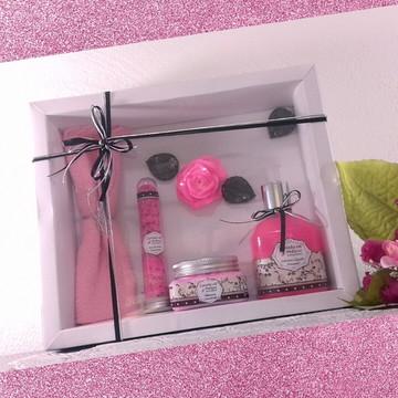 Kit de Banho: Perfumada e Poderosa Flor