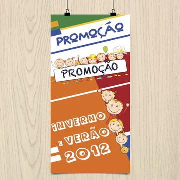 Banner para confecção infantil
