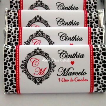 Barrinhas de Chocolate Casamento
